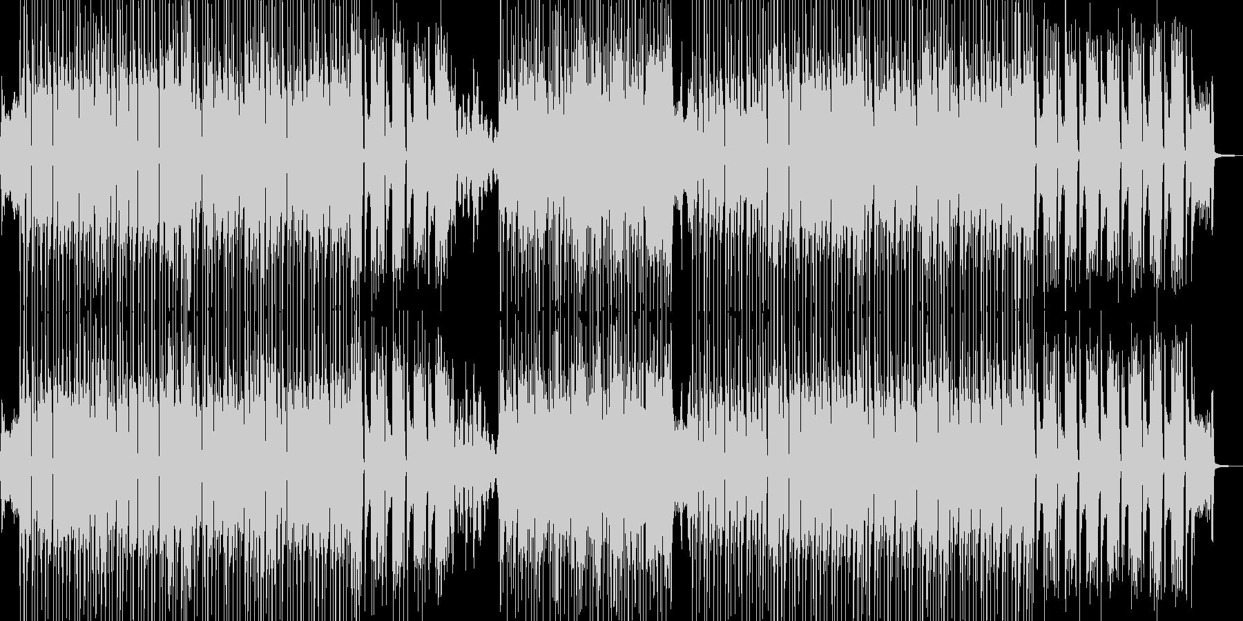 琴・三味線 渋くてクールなビートの未再生の波形