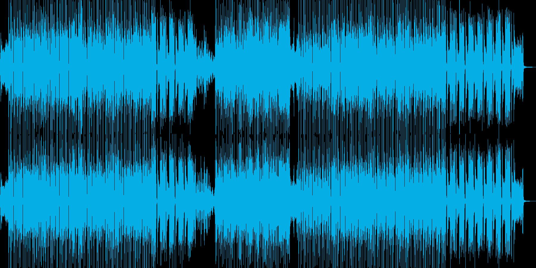 琴・三味線 渋くてクールなビートの再生済みの波形