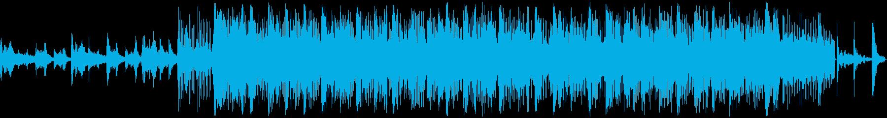 ヘビーオルタナティブロックテーマの再生済みの波形