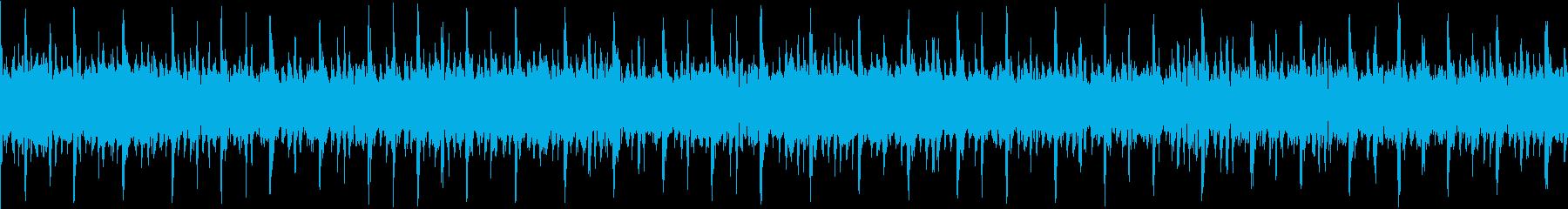 ループ_シリアスな曲調のEDM2の再生済みの波形