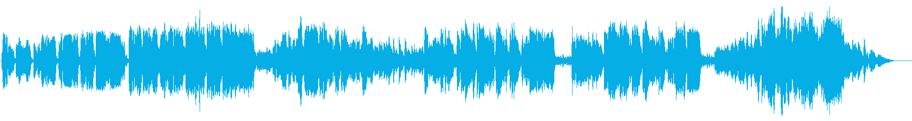 ゆったりとしたピアノと女性ボーカルの再生済みの波形