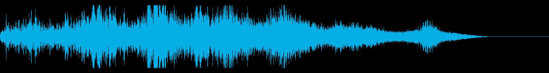 Sci Fiライザー、マシン、電子...の再生済みの波形