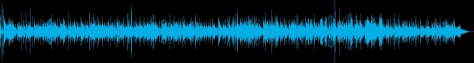 生ギター、しっとり落ち着いたキラキラ星の再生済みの波形