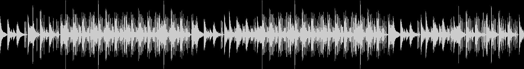 レトロ・ピアノ・ローファイ・綺麗・ループの未再生の波形