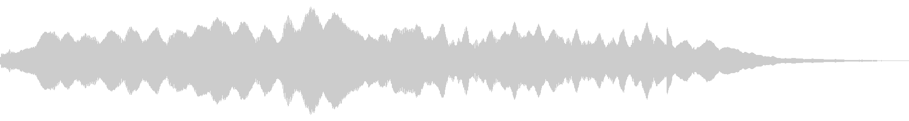 レゾナンスカームニルヴァーナの未再生の波形