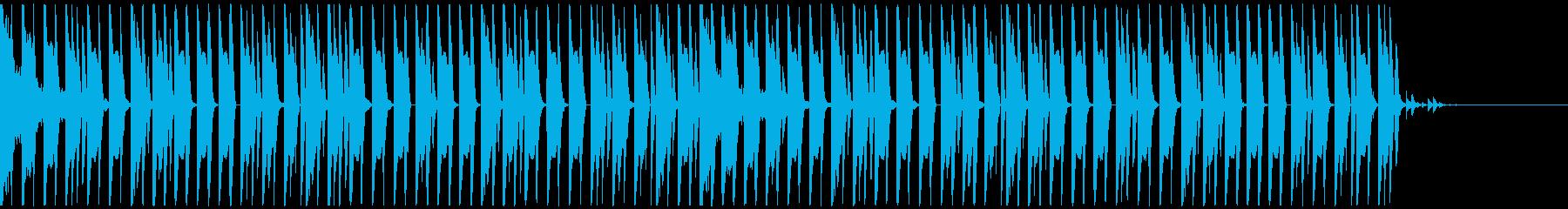 オシャレ・戦闘・スリリングEDM、①の再生済みの波形