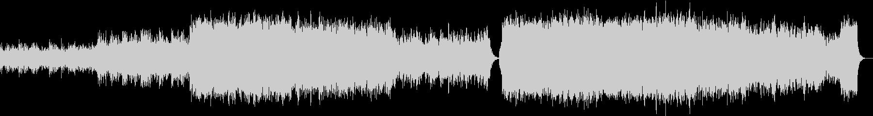意外となかった?こだわりの本格和風音楽8の未再生の波形