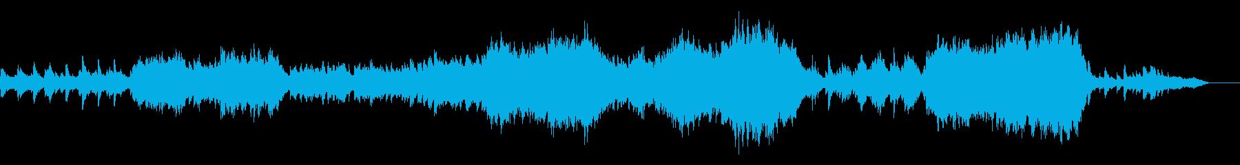 優しく切ない旋律の感動/壮大オーケストラの再生済みの波形