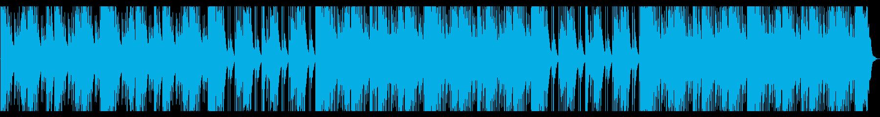 洞窟を探索するような神秘的なBGMの再生済みの波形