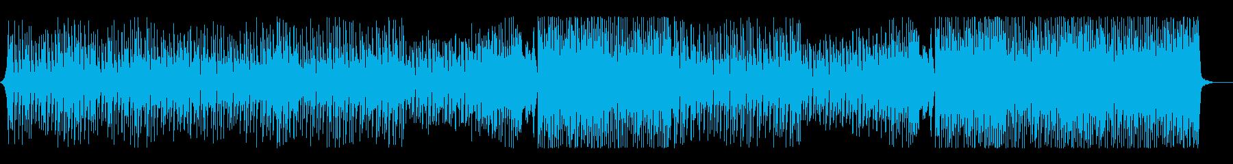 爽やかで軽快なトロピカルハウスの再生済みの波形