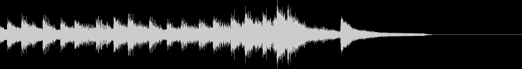 コードメインの4分の5拍子ピアノジングルの未再生の波形