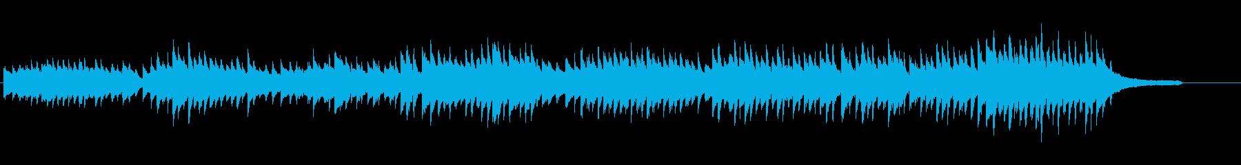 フワフワしたアルペジオのピアノソロの再生済みの波形