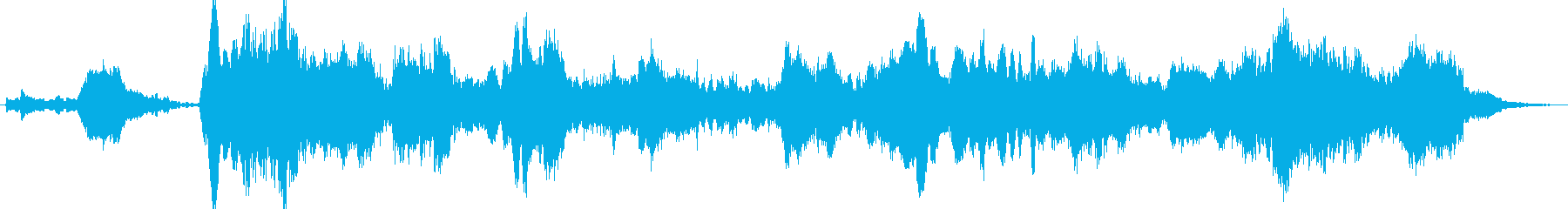 暗く静かなシンセアンビエントBGMの再生済みの波形