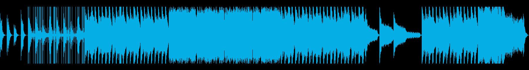 一瞬で過ぎゆく時をイメージしたMバラードの再生済みの波形
