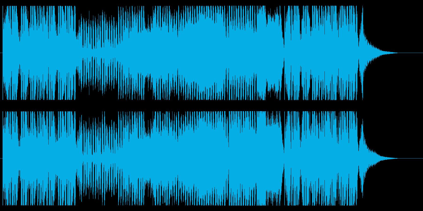 浮遊感と爽快感のあるEDMの再生済みの波形
