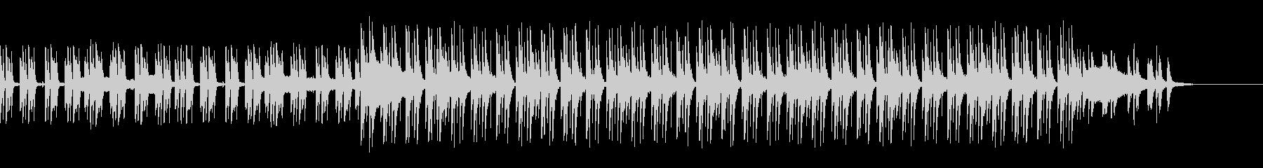 コーポレートテクスチャ―9の未再生の波形