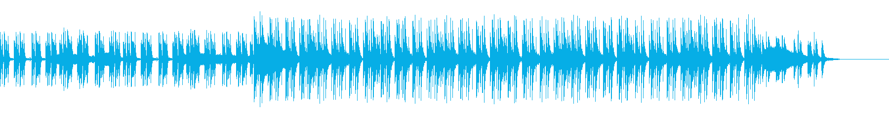 コーポレートテクスチャ―9の再生済みの波形