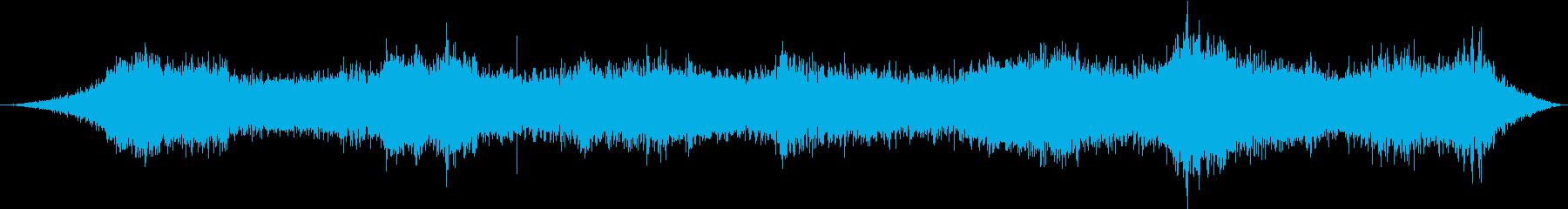 都市の環境音1の再生済みの波形