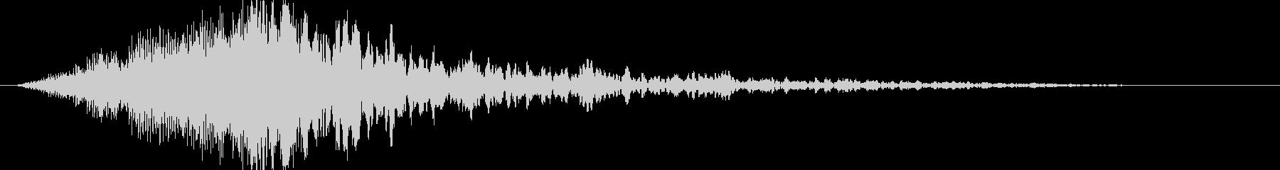 シューバン:ハイブリット音:オープニングの未再生の波形