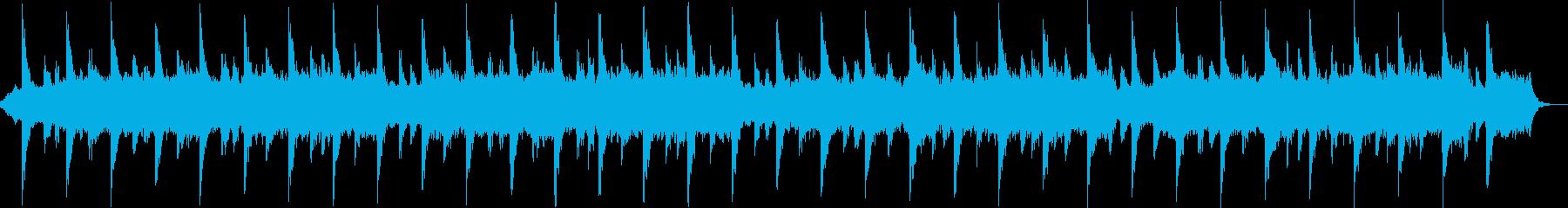 アンビエント ピアノ テクスチャー 瞑想の再生済みの波形