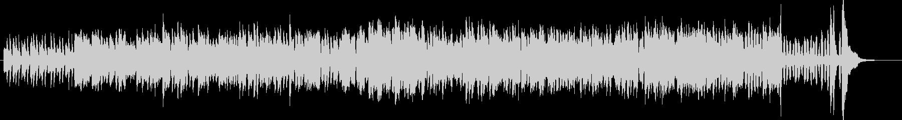 バンドネオンとピアノだけの妖しいワルツの未再生の波形