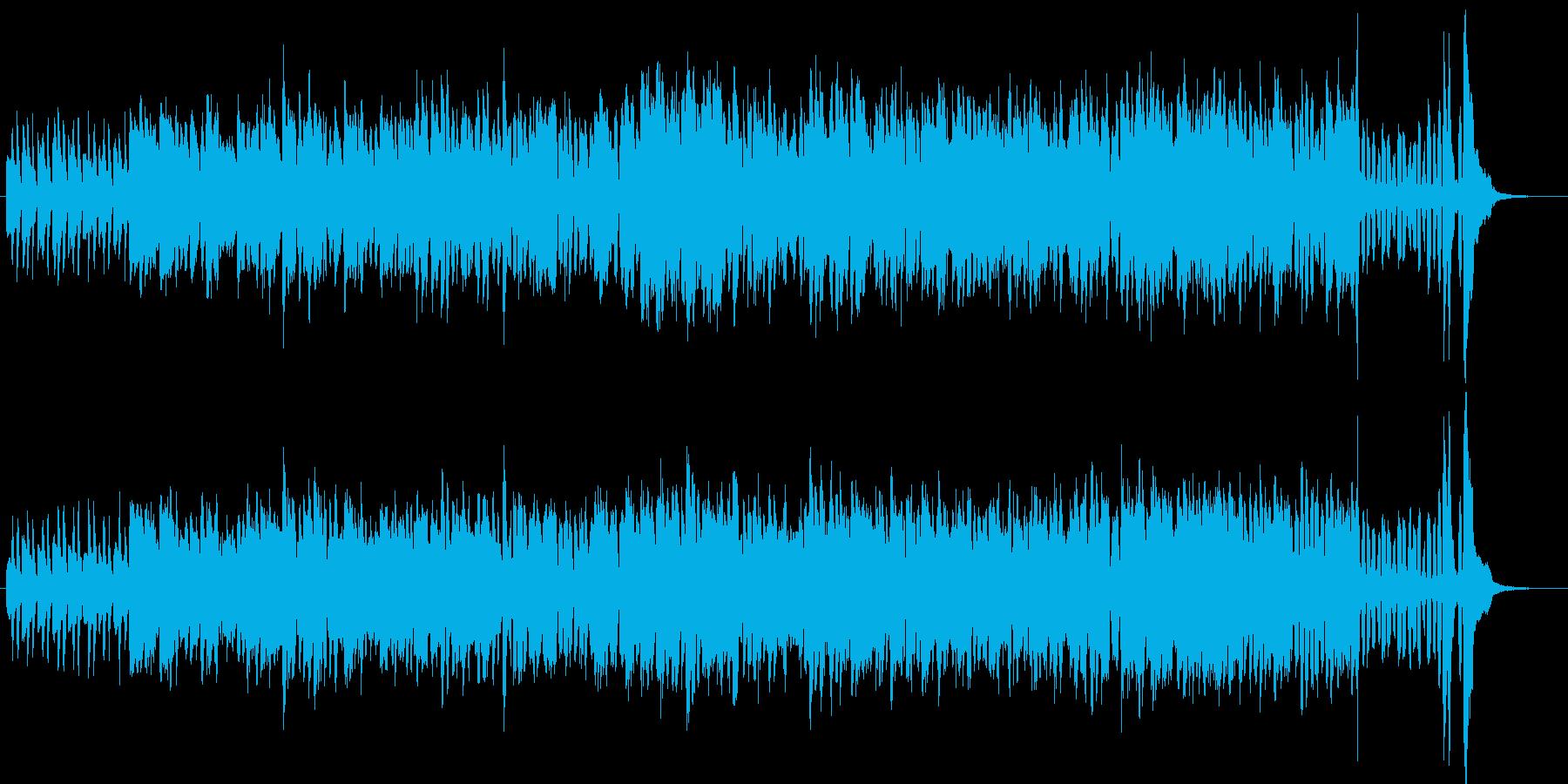 バンドネオンとピアノだけの妖しいワルツの再生済みの波形