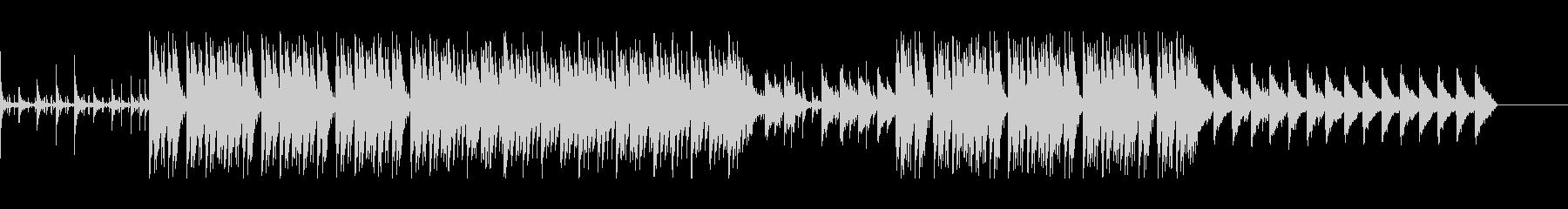 アングラなHIPHOP系BGMの未再生の波形