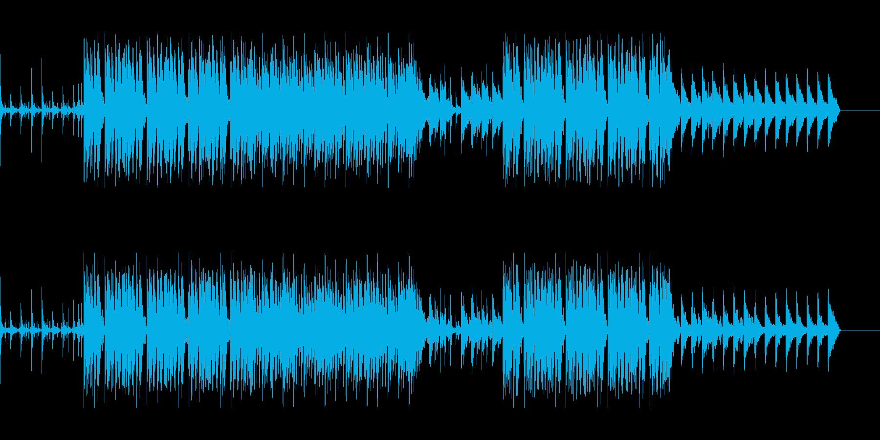 hiphop・アングラ・ダーク・クールの再生済みの波形