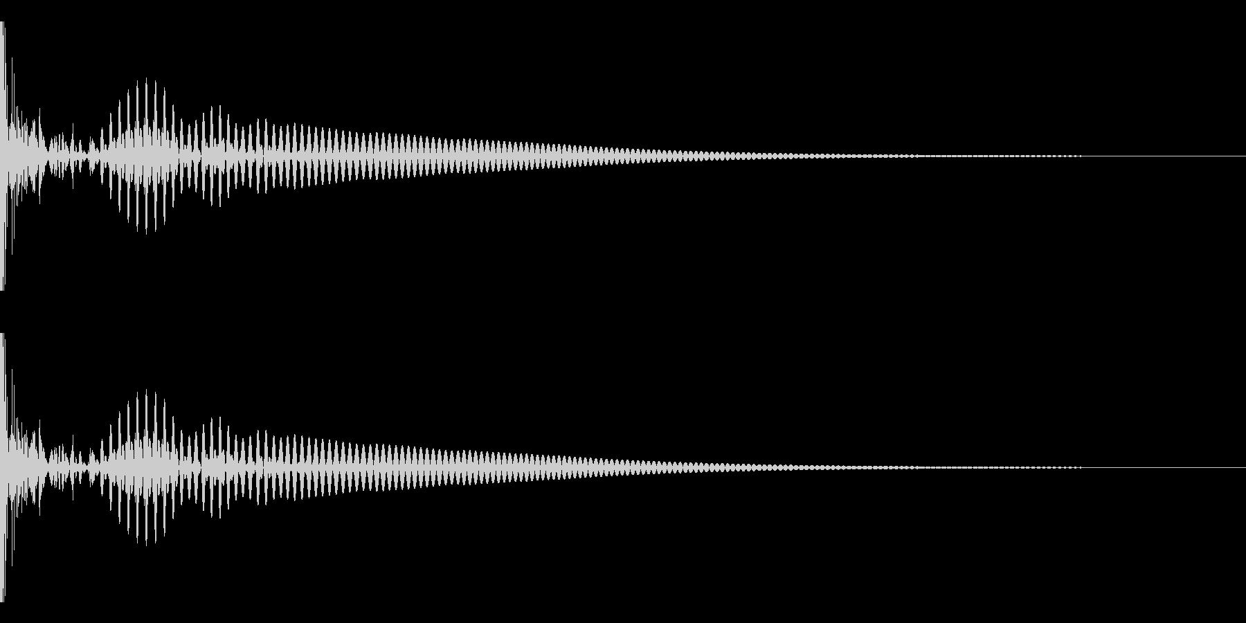 DTM Tom 28 オリジナル音源の未再生の波形