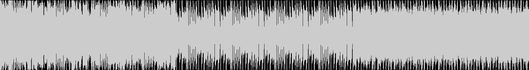 キラキラとしたトロピカルレゲエ。ループ用の未再生の波形