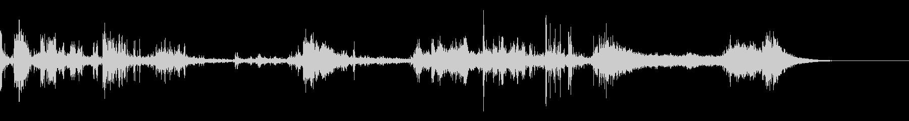 カミナリ(遠雷)-37の未再生の波形