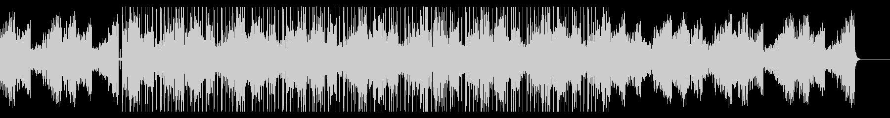 サックスソロの入ったチル・ヒップホップの未再生の波形