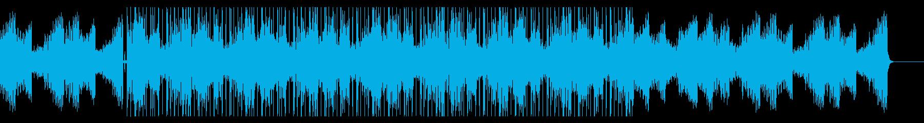 サックスソロの入ったチル・ヒップホップの再生済みの波形