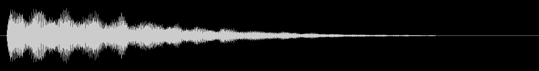 嫌な予感 不穏 ミステリー01 の未再生の波形