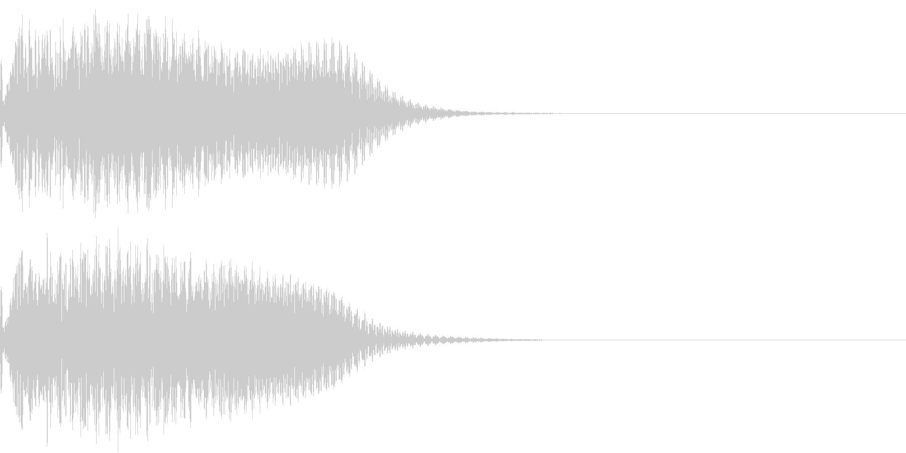 キュイン 光 ピカーン フラッシュ 09の未再生の波形