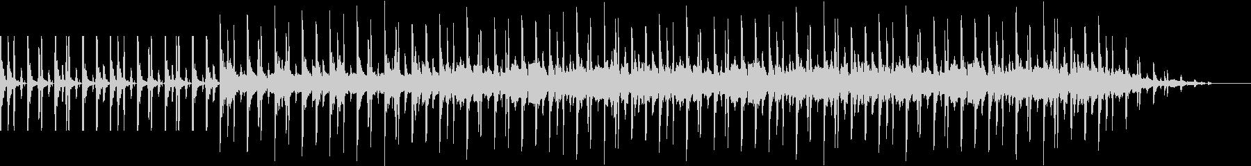 シンキングBGMの未再生の波形