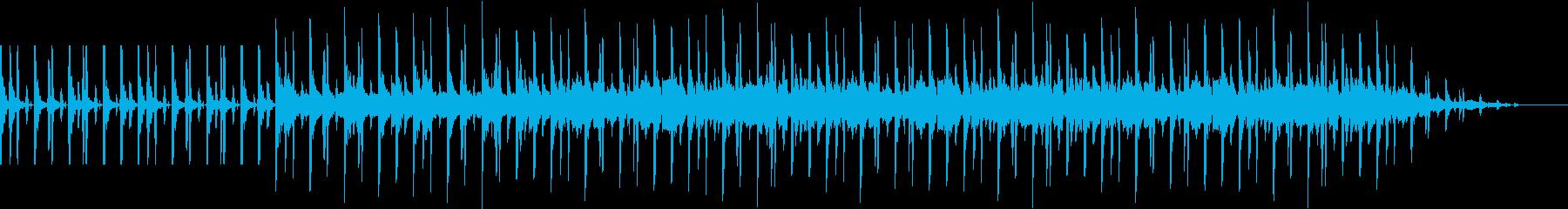 シンキングBGMの再生済みの波形