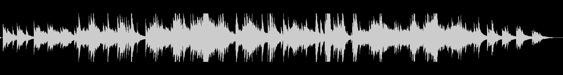 ピアノ、弦楽器、オーボエ、ベル、ハ...の未再生の波形