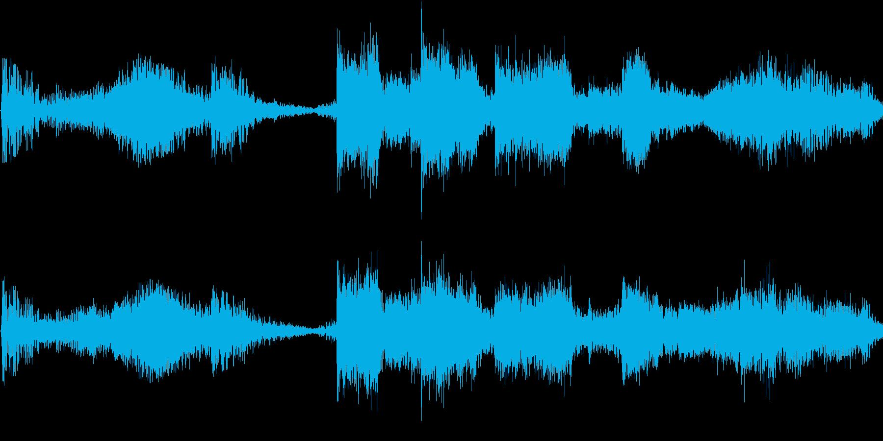 緊迫感に満ちたヘヴィなドラマチック交響曲の再生済みの波形