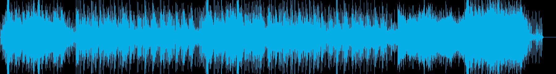シタールによる異国情緒あふれるBGMの再生済みの波形