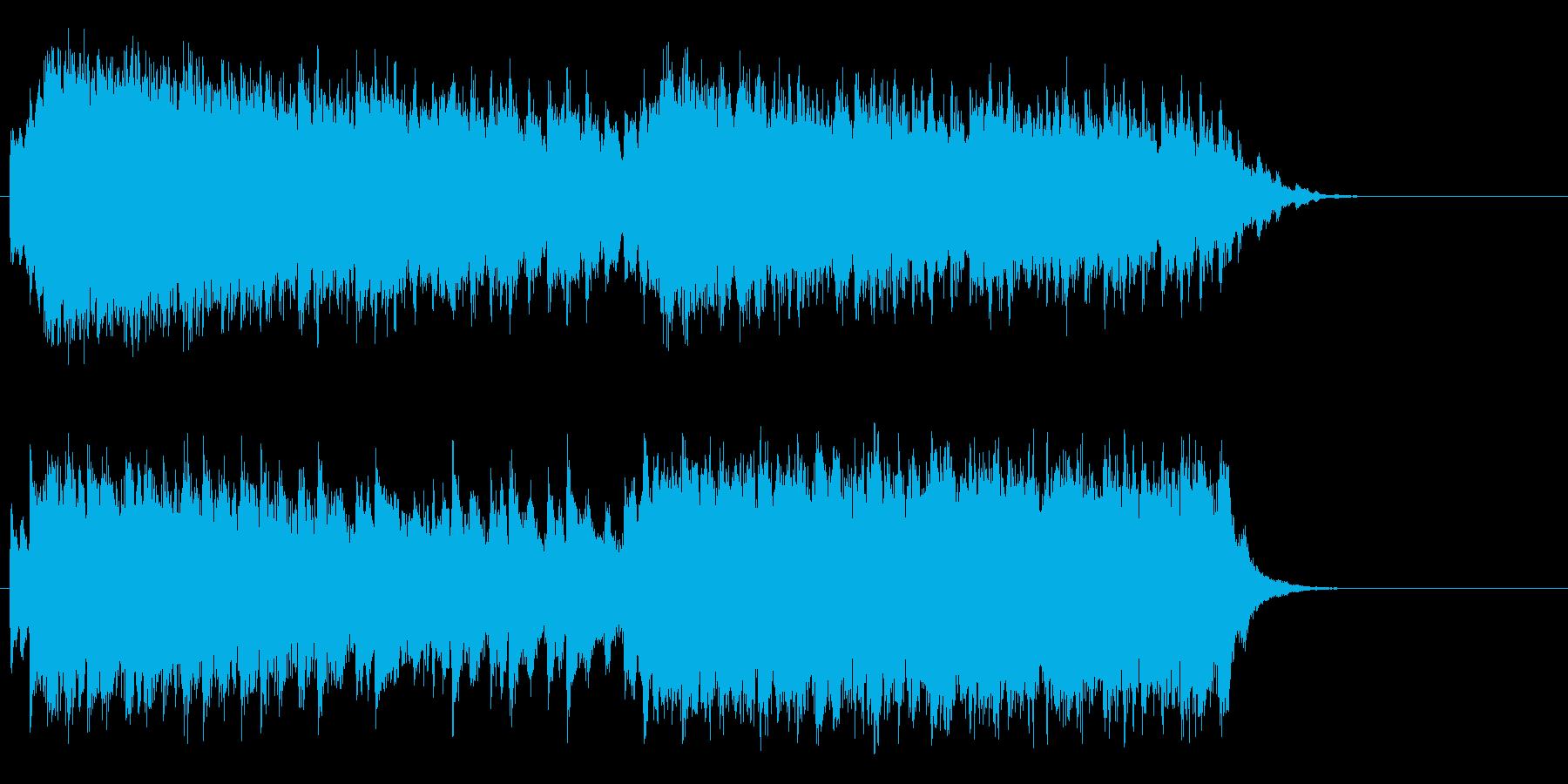 謎 不気味 場面転換 ゲーム 登場の再生済みの波形