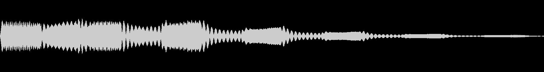 ホワホワ(妖精が舞う 着信)の未再生の波形