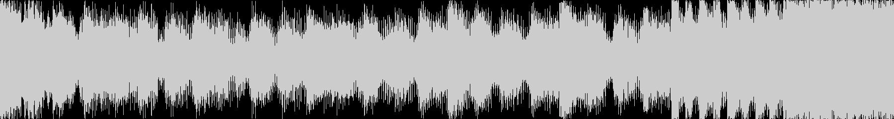 【ループG】ヘヴィーで攻撃的エレキギターの未再生の波形