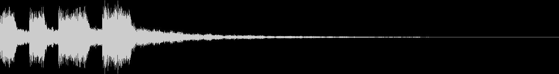 シンプル アナログ ファンファーレ 02の未再生の波形