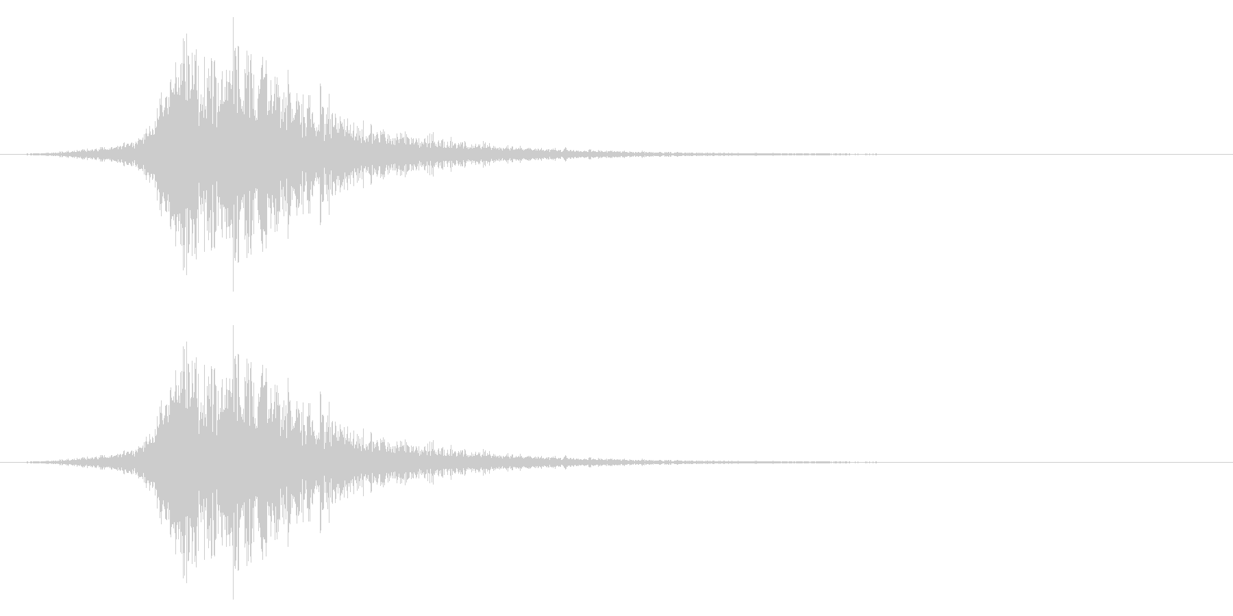 シューッという音EC02_55_1の未再生の波形