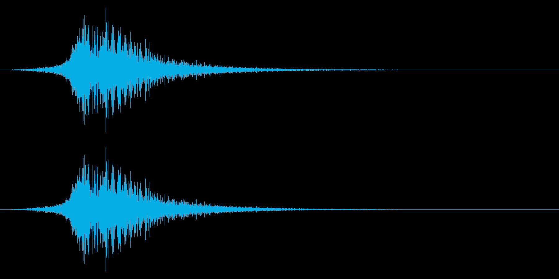 シューッという音EC02_55_1の再生済みの波形