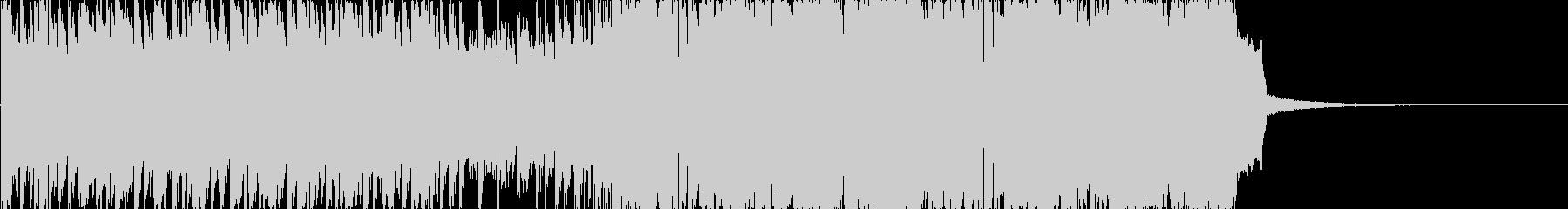 30 seconds of intense dubstep's unreproduced waveform