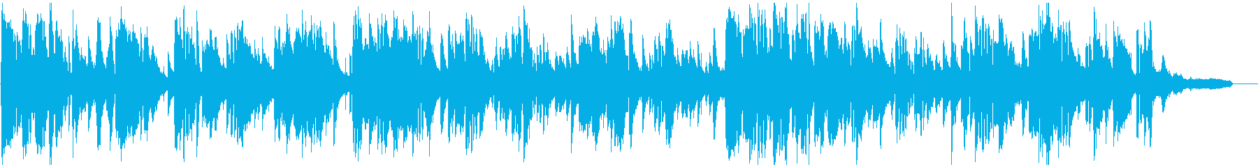 コメディ的なお色気シーンのエロいサックスの再生済みの波形