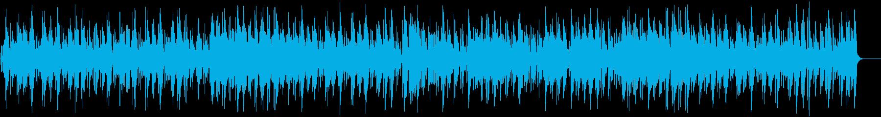 サックスが大人で優雅なボサノバの再生済みの波形