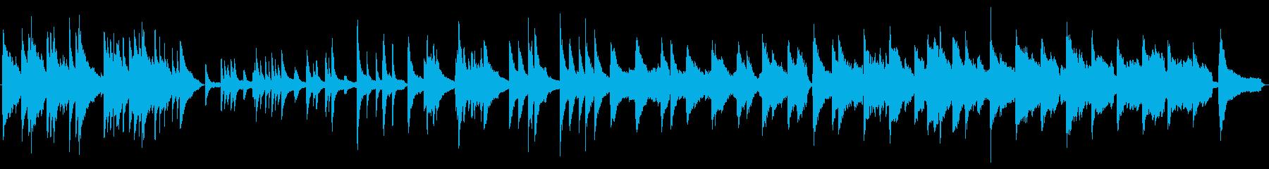 メロディーが印象的でほのぼのとしていますの再生済みの波形